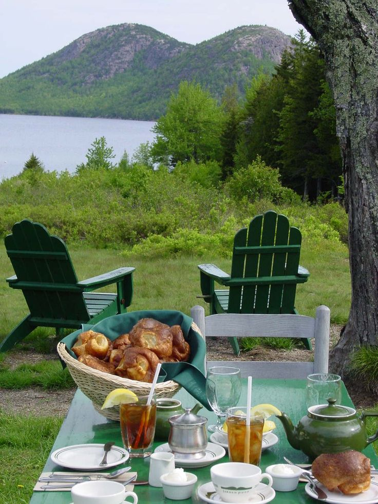 ... Jam, Dining Spaces, Places, Bar Harbor Maine, Popovers, Jordans Ponds