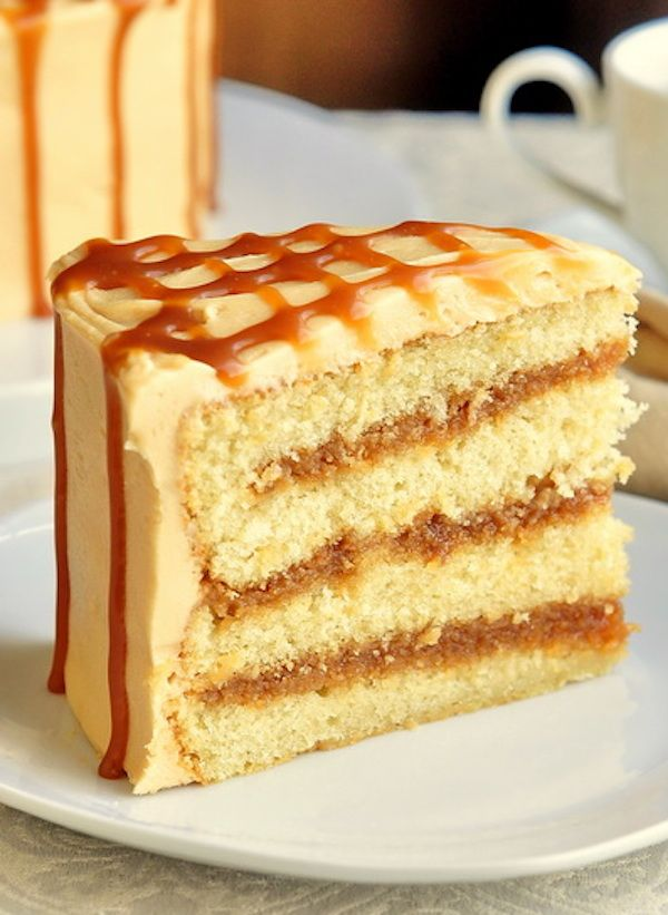 The Best Caramel Cake