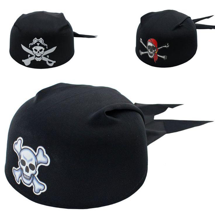 5 шт. Новый Хэллоуин Праздничные Атрибуты Pirate Captain Hat Череп Пирата Cap Хэллоуин Косплей Производительность Реквизит детский Подарок
