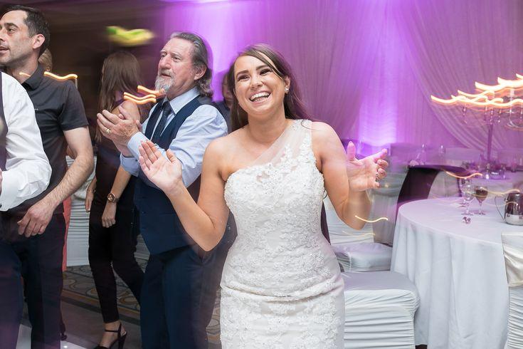 druids glen wedding photographer dancing bride