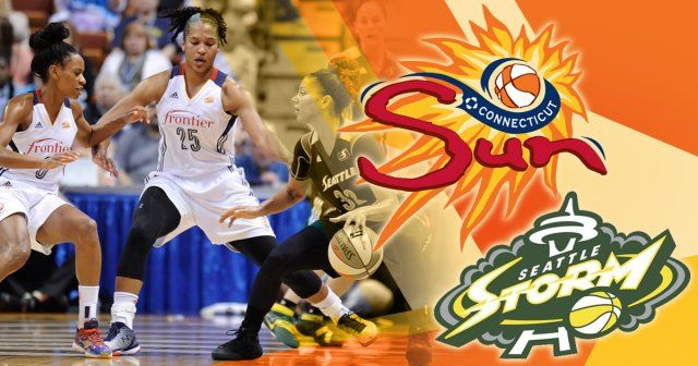 Catch Connecticut Sun vs. Seattle Storm at the Mohegan Sun Arena in Uncasville, CT for June 29, 2017. Get tickets to watch it live at @rewardthefan!