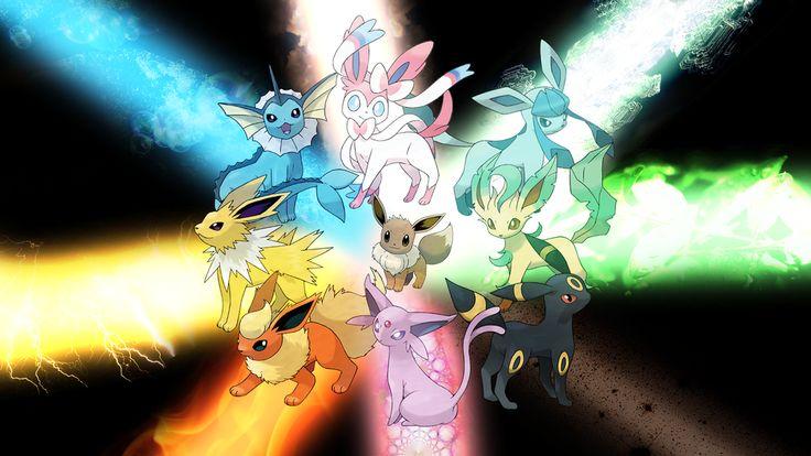 Todas las evoluciones de Eevee - Pokemon XY (Trucos y Guías)