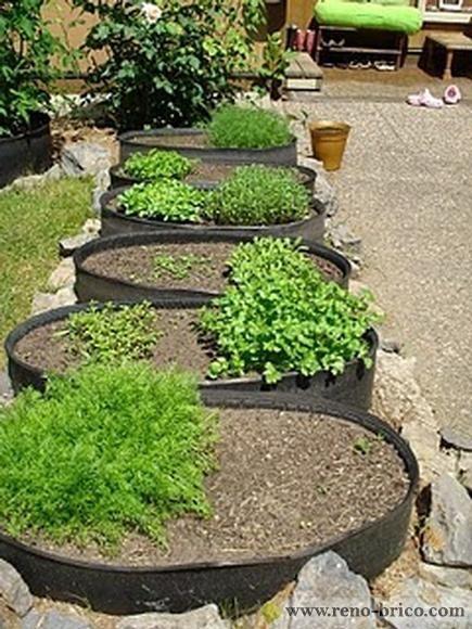 Raised Garden Tires