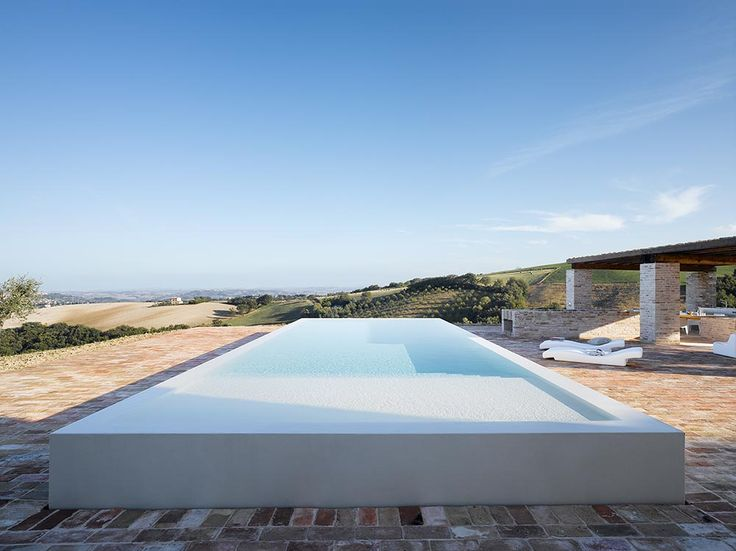 Love This Very Modern Pool Built In The Renovation Of The Le Marche Villa  In Treia, Le Marche, Italy. Beautifully Done By The Caviano ...