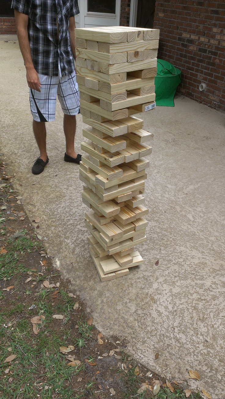 47 best jenga images on pinterest jenga diy outdoor games and