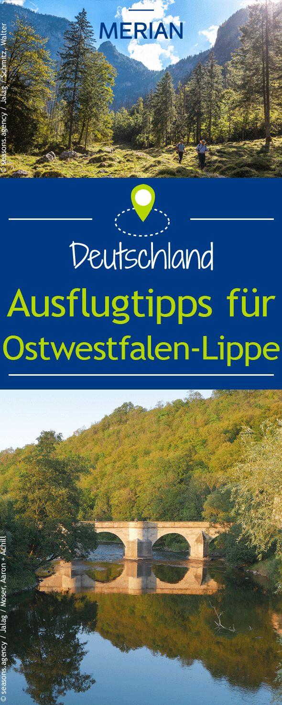 Im Nordosten von Nordrhein-Westfalen wartet die schöne Region Ostwestfalen-Lippe auf euch! Hier könnt ihr von den Externsteinen die Aussicht über den Teutoburger Wald genießen oder eine Fahrradtour entlang der Weser machen. Wir haben für euch die besten Ausflugtipps für Ostwestfalen-Lippe.
