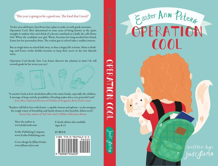 Children S Book Back Cover Text : Operation cool cover spine and back low res
