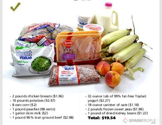 Cheap meal plan