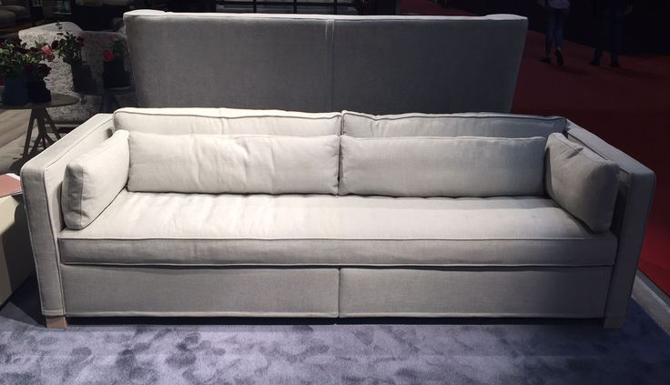 Andersen is a new #sofa and #sofabed at the #SaloneMilano with horizontal sleeping. #MDW2016.