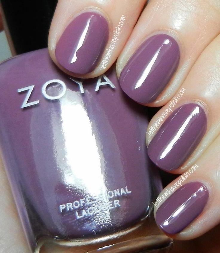 Zoya Naturel Collection Swatches- Odette @Zoya Zinger Nail Polish