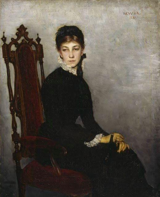 MARIA WIIK  Hilda Wiik (1881)