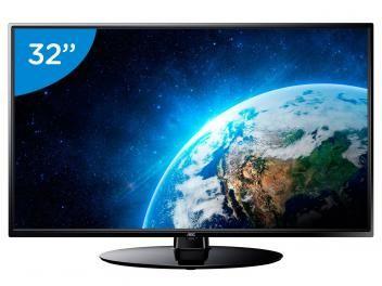 "TV LED 32"" AOC LE32H1465/25 - Conversor Digital 2 HDMI 1 USB"