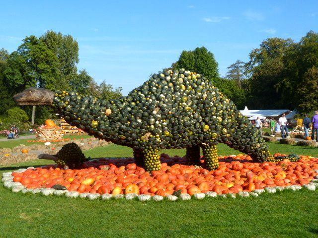 World's Largest Pumpkin Festival in Ludwigsburg Germany