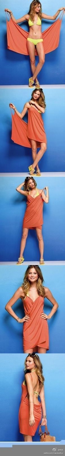diy dress this looks simple