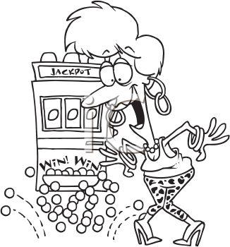 slot machine clip art images