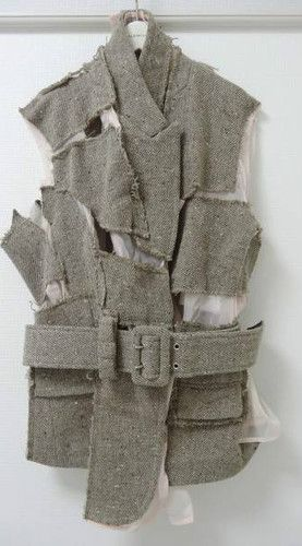 Comme Des Garcons Wool Reconstruction No Sleeve Jacket 2007 s S | eBay