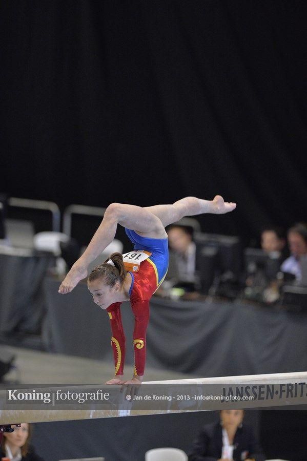 Jeugd Olympische Spelen Utrecht 2013 Turnen Finaledag Toestelfinales Vrouwen Deel 5 | Jan de Koning Fotografie