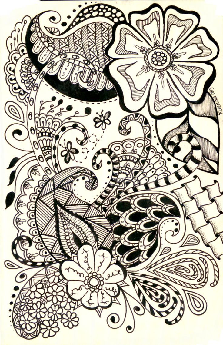 This Is A Really Cool Paisley Design I Came Across