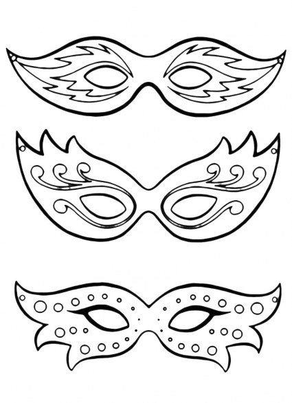 73 best maske images on pinterest masks mardi gras mask template