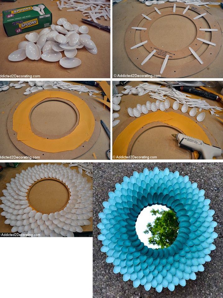 Inspired Idea plastic spoons repurpose design inspiration