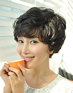 Cute short hair style [CUT]  Angel Snow  NABIBUIN Missy Wig Mommy Wig  69,000 won