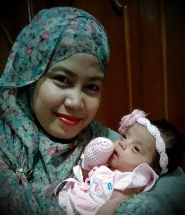 Zahirah en mom