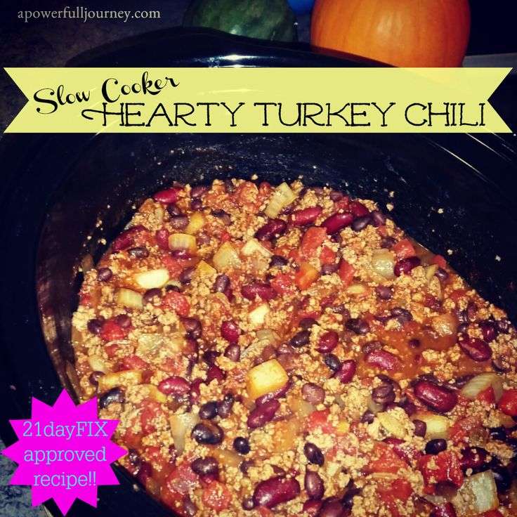 1000+ ideas about 21 Day Fix Chili on Pinterest | 21 Days, 21 Day Fix ...