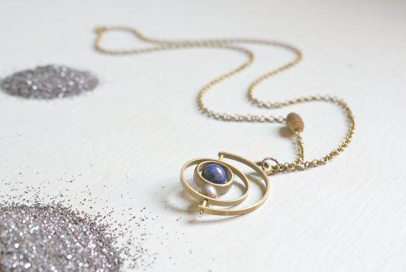 the Satellite Gyroscope necklace