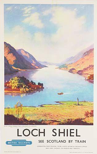 Loch Shiel - Bristish Railways - (Douglas McLeod) -