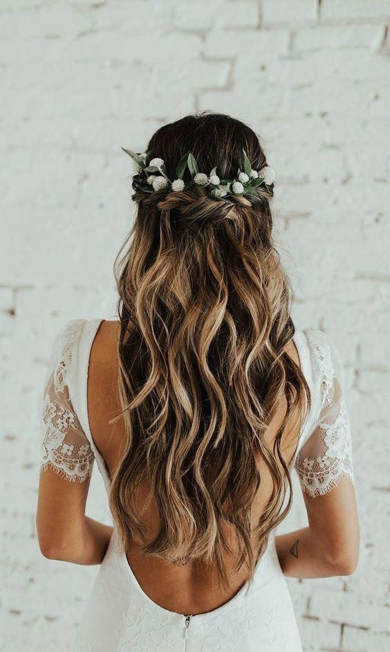 Hair Hairstyles Boho Bohohair Indie Wedding Dress Wedding