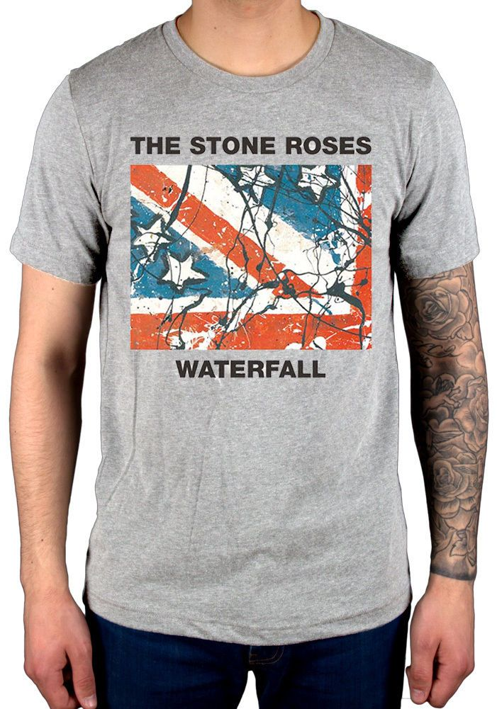 >> Click to Buy << 2017 Customizes The Stone Roses Waterfall T Shirt New Grey Begging You Second Coming Design T Shirt Fashion Tees #Affiliate