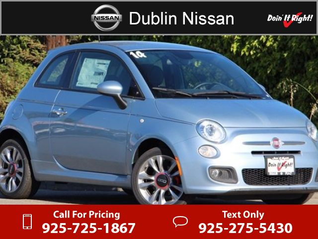2014 Fiat 500 Sport $12,500  miles 925-725-1867 Transmission: Automatic  #Fiat #500 #used #cars #DublinNissan #Dublin #CA #tapcars