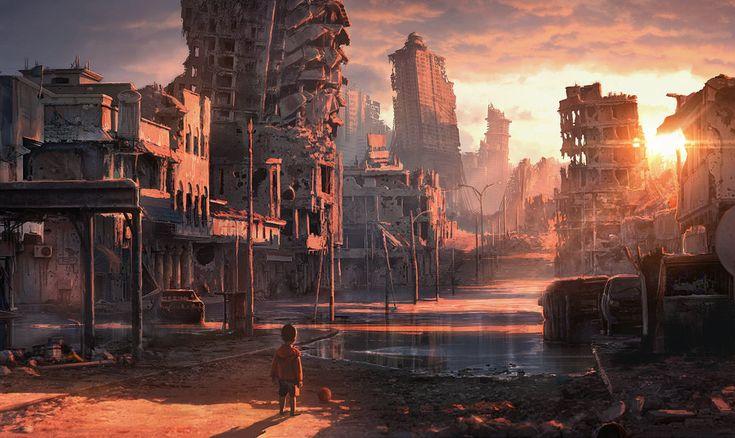 Derelict city