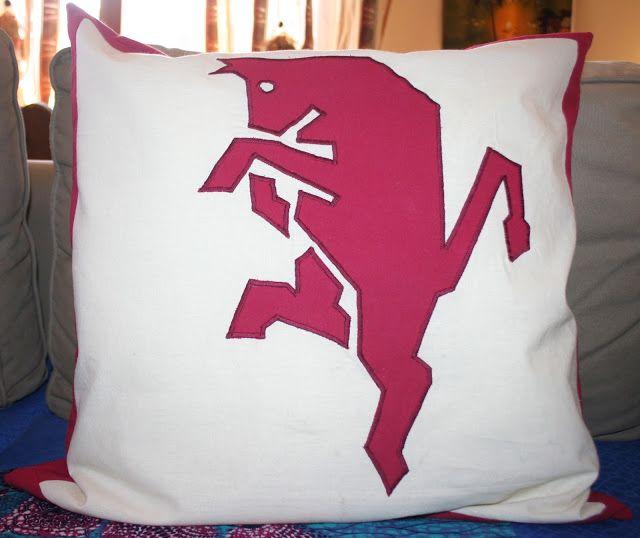 troppe idee e mai abbastanza tempo: Un cuscino per un tifoso del Torino