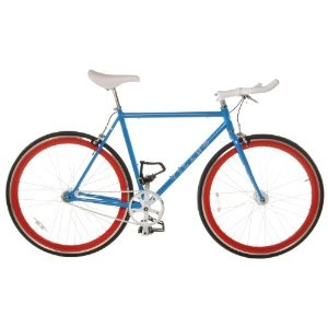Vilano Fixed Gear Single Speed Bicycle Bike is a very sweet ride, 46t chain-ring, 16t cassette and 16t fixed you can switch between fixie or freewheel which makes this bike suitable for any rider.  Priced at $358.14, this bike is a great value and has had fantastic reviews.