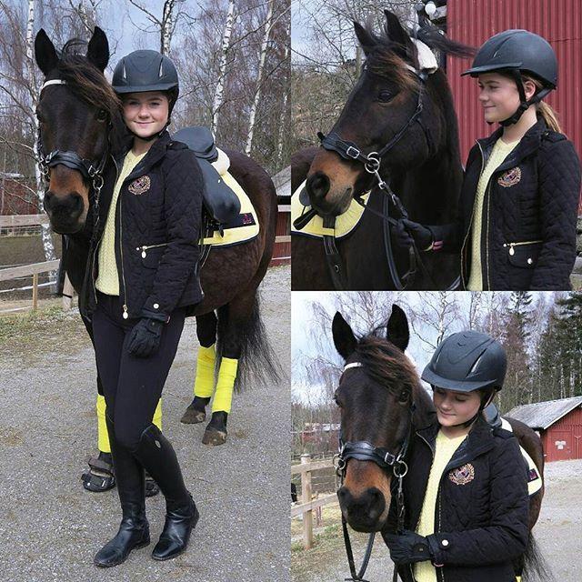 Misslisibell and her horse in a Hööks outfit. #HookedOnHööks I www.hookseurope.com I endlessmisslisibell