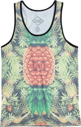 It's a party in this pineapple tank. http://www.swell.com/New-Arrivals-Mens/ALTRU-PINEAPPLE-PARTY-TANK?cs=MU