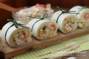Rotolini capricciosi - finger food