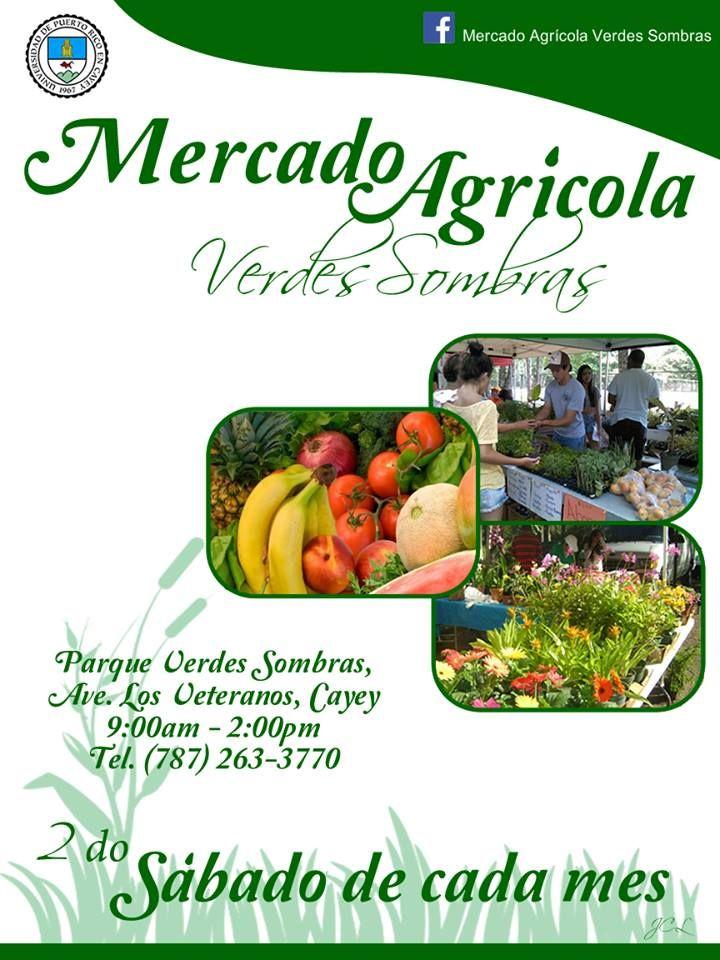 Mercado Agrícola Verdes Sombras @ Cayey #sondeaquipr #mercadoagricola #parqueverdessombras #cayey