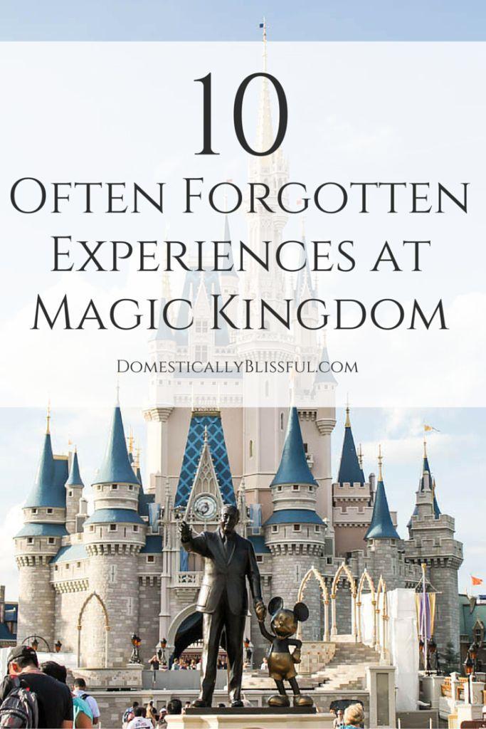 10 Often Forgotten Rides, Attractions, & Experiences at Magic Kingdom.