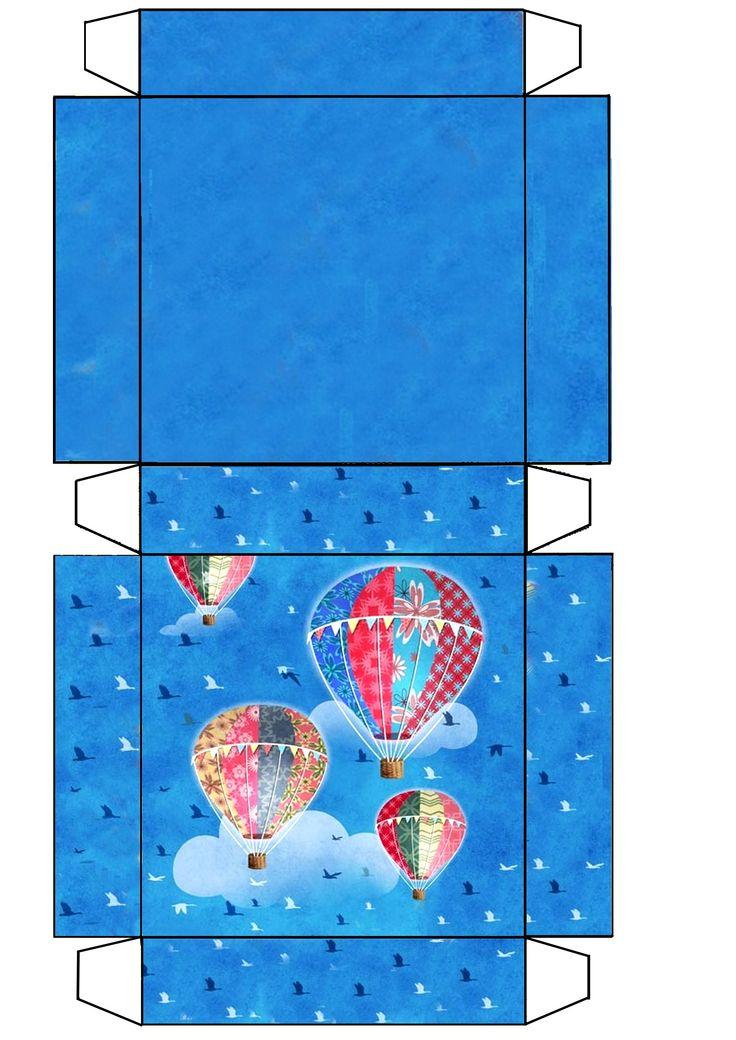 Hot Air balloon box .JB