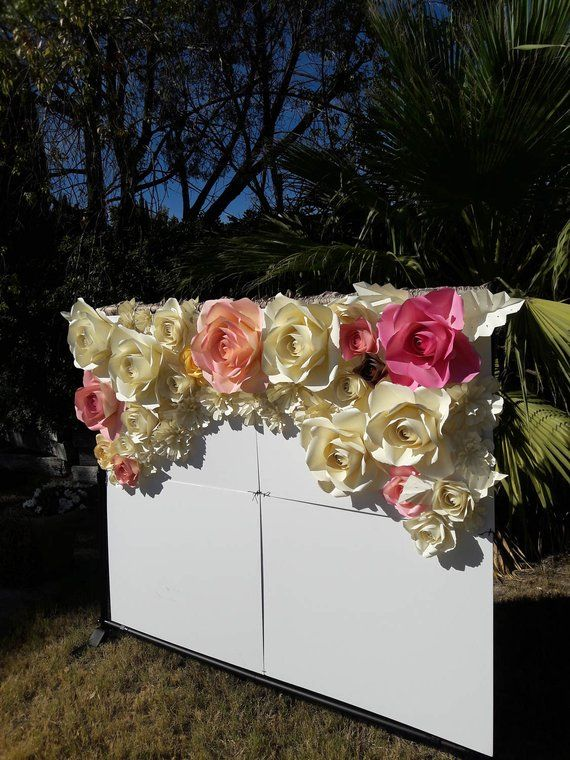 22 Paper Flowers Backdrop In 2018 Maribel Pinterest Paper