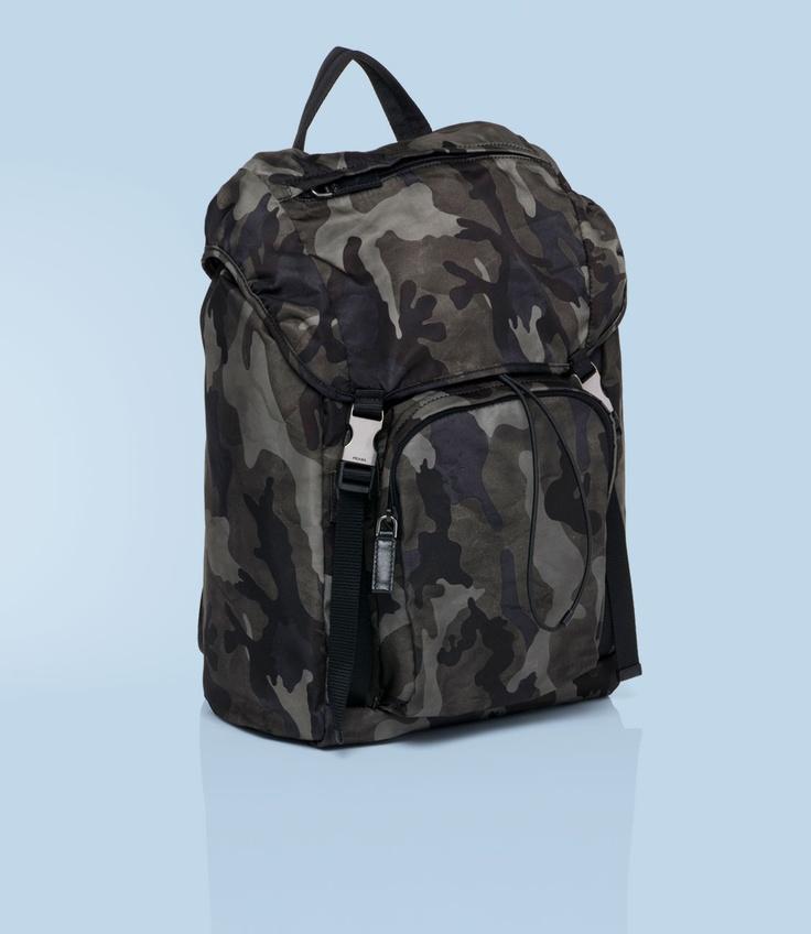 Prada Camo Backpack