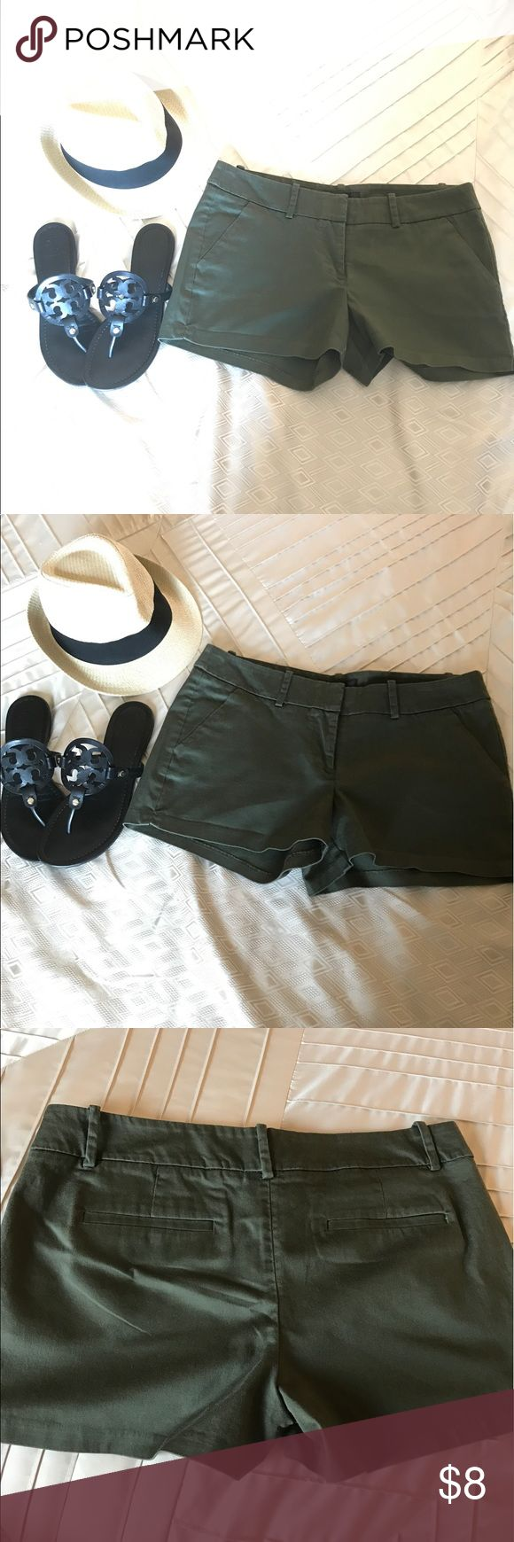 Mossimo olive green shorts Olive green mossimo shorts size 10, perfect condition! Mossimo Supply Co Shorts