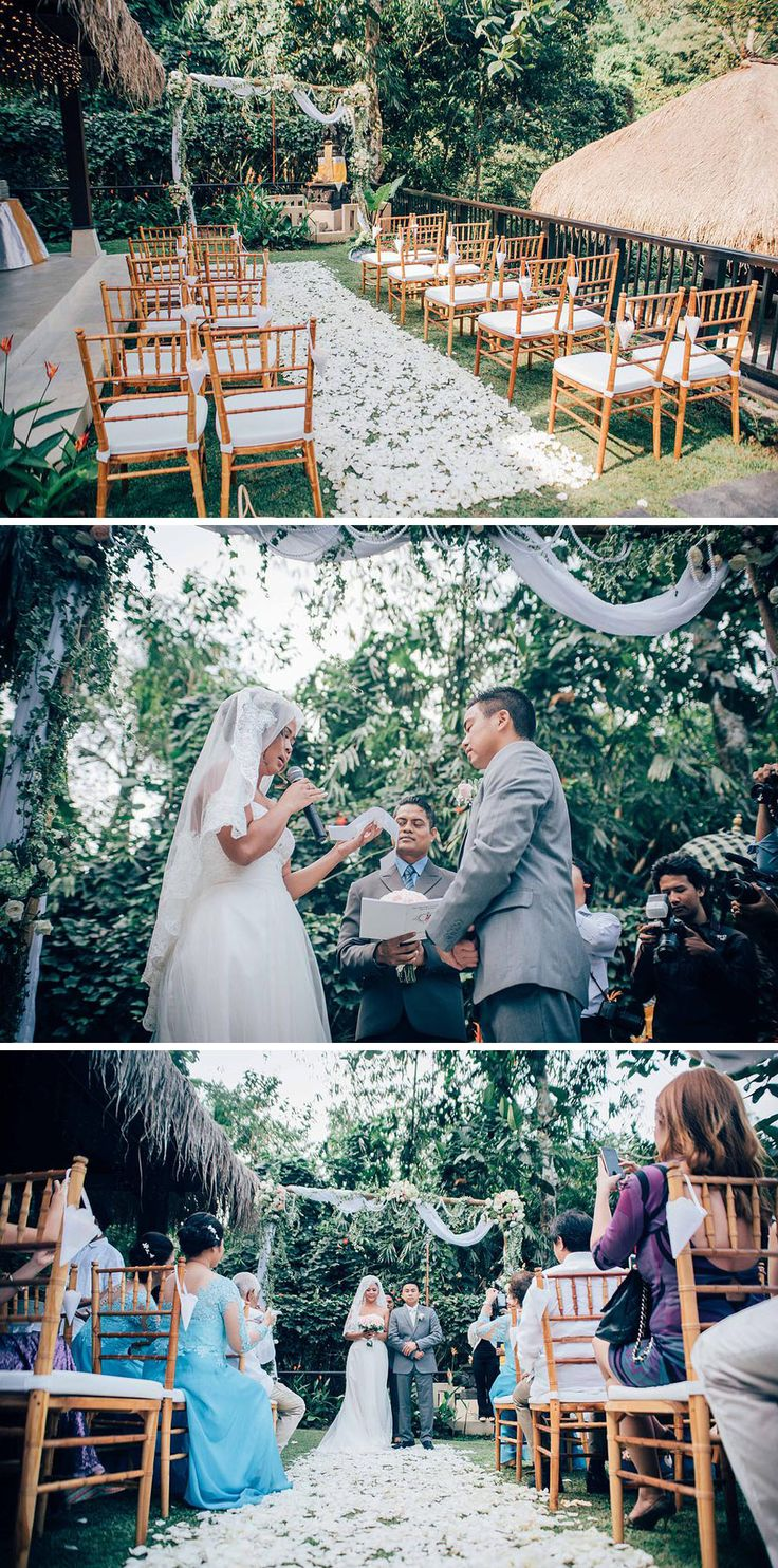 garden party wedding venues melbourne%0A Here are   Bali wedding venues in Ubud that are a woody heaven