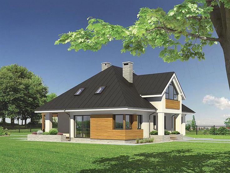 Projekt domu Murator M76a Ogród o zmierzchu - wariant I
