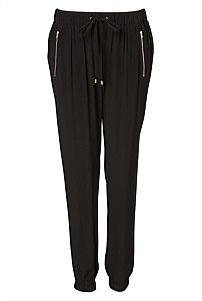 Zip Front Drape Pant  #witcherywishlist