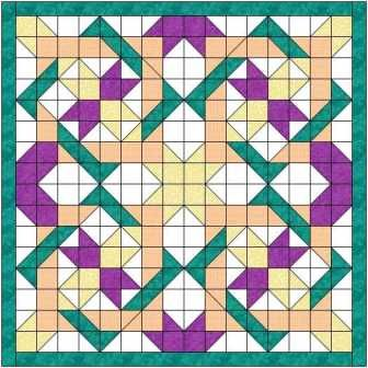 The Nancys fancy quilt block makes a gorgeous quilt, looking complex but actually easy to make. Big block quilt with video included.
