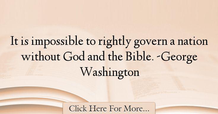 George Washington Quotes About God - 27809