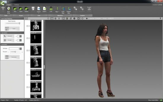 New Kinect-based 3D scanning software released | 3D Printing news